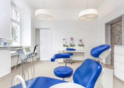 Seat in dentist room
